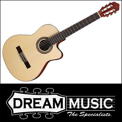 Crafter HCC-240EQ/NT Classical Nylon String Acoustic/Electric Guitar RRP$399