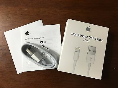 1M Origin OEM Lightning USB Cable Apple iPhone5 6 6s Data Sync Charge