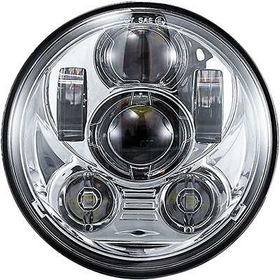 """5-3/4"""" LED Chrome Projector Headlight Daymaker Fit Harley Sportster XL 1200 883"""
