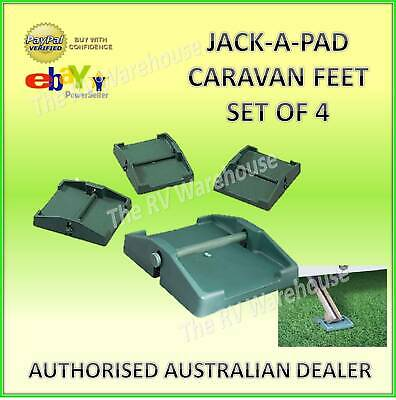Caravan Jack Pads Corner Steadies, Camper Trailer Stabilizer Legs, RV Big Foot