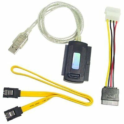USB to IDE SATA 2.5 3.5 Hard Disk HDD Cable Converter LW