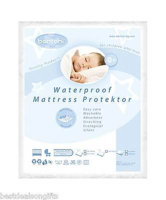 Waterproof Baby Cot Mattress Protector Washable Cover 120/60cm