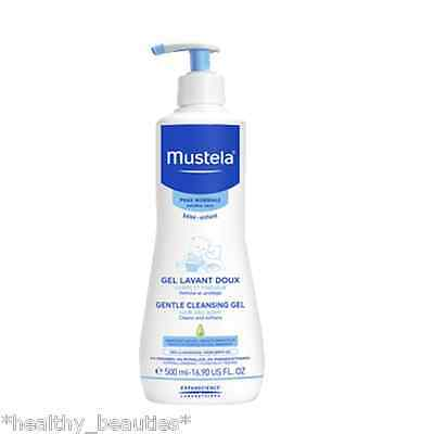 Mustela Bebe Dermo cleanser Soap free gel Hair and Body Wash 500ml Child & Baby