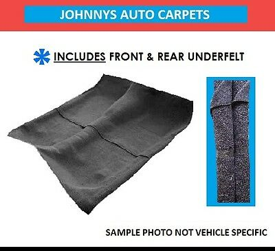 Moulded Car Carpet To Suit Holden, Hq Hj Hx Hz Wb ( Black Only )