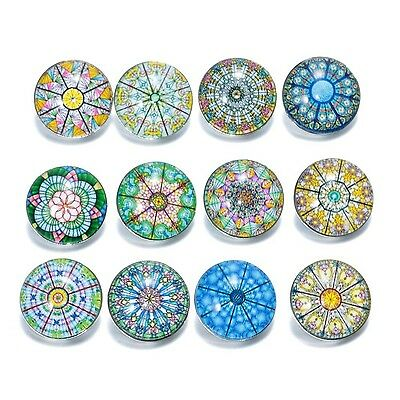 Soleebee Aluminium Glass Umbrella Shaped Snap Buttons Jewellery Charms Pack of 1