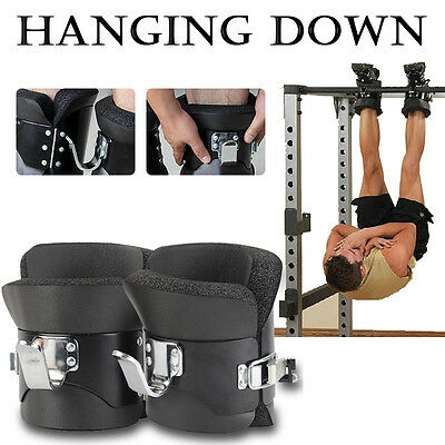 Gravity Inversion Boots Therapy Crossfit Hang Physio GYM Fitness Spine Posture