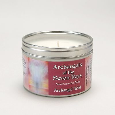 Archangels Of The Seven Rays - Uriel Spiritual Aromatherapy Soy Candle