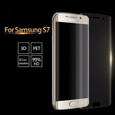 Full Curved 3D PET Screen Protector For Samsung Galaxy S7