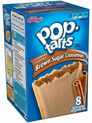 Pop Tarts Frosted Brown Suger Cinnamon 397g