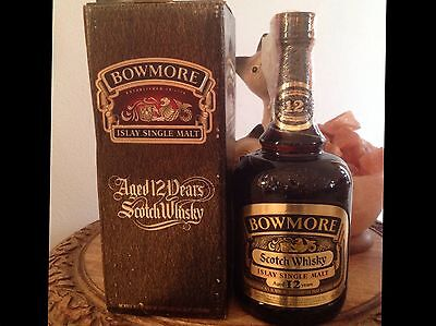 WHISKY Bowmore 12 years old - Islay Single Malt 75 cl 43 %  BOXED
