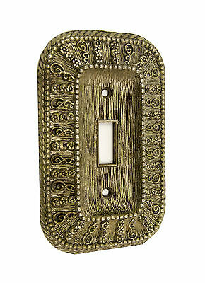 Vtg 1968 American Tack & Hardware Ornate Switch Plate Cover 50T