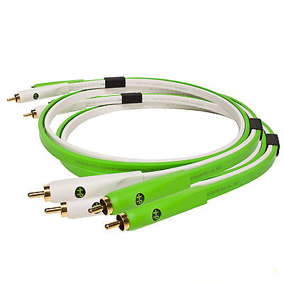 NEO by Oyaide d+ RCA Class B Stereo-Cinch Kabel-Set  2 x 1m