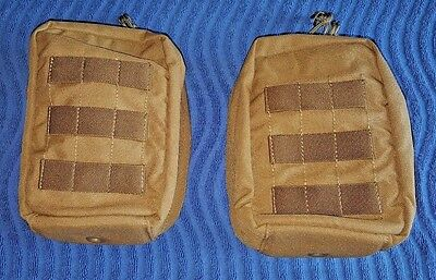 NEW (Lot-2) US Military Coyote Tan Molle AN/PVS-14 MNVD Universal Pouch NICE!!