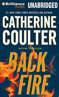 BACKFIRE unabridged audio book on CD by CATHERINE COULTER