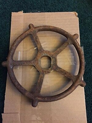 Large Vintage Industrial Steampunk Valve Gauge Ornate Spigot