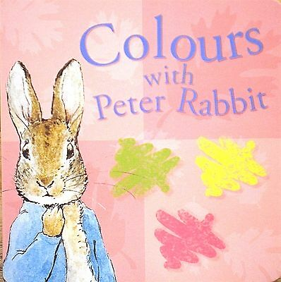 Colours with Peter Rabbit | Children's Board Book | Early Learning | Babies |New