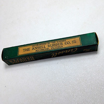 Vintage Unopened The ANSELL HYGIENIC DROPPER Richmond Vic Medical Apothecary