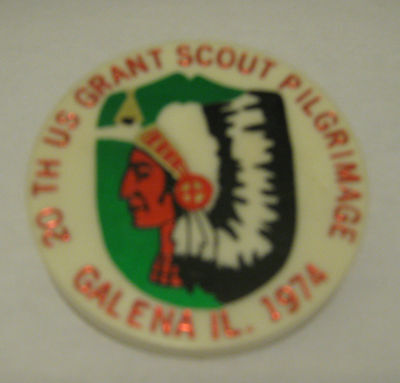 Boy Scouts of America BSA 20th US Grant Scout Pilgrimage Galena, IL 1974 Slide