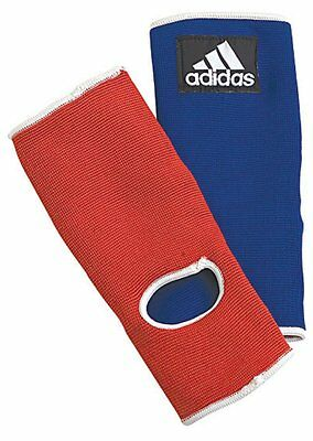 Adidas Reversible Thai Style Ankle Pads - Red/Blue