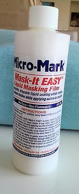 Mask-It EASY Protects HO Model Trains etc where you DON'T want paint to stick