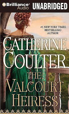 THE VALCOURT HEIRESS unabridged audio book on CD by CATHERINE COULTER