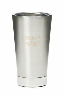 Klean Kanteen 16oz 473ml Insulated Tumbler Brushed Stainless Steel