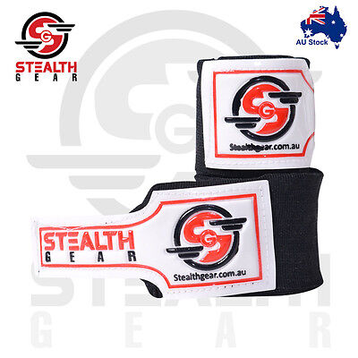 Boxing Hand Wraps MMA INNER Gloves BLACK Fist Protector BANDAGE UFC Stealth Gear