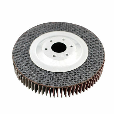 """1x 4"""" 100mm 320 Grit Angle Grinder Flap Disc Sanding Wheel 16mm Hole Rotary Tool"""