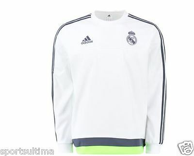 Adidas Real Madrid Training Sweat Top 2015/16 Mens 100% Authentic