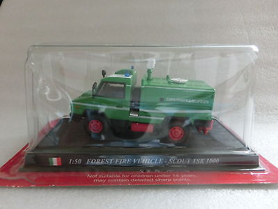 Feuerwehr Del Prado 1:50 Forest Fire Vehicle-Scout TSK 1000 Italien  (111)