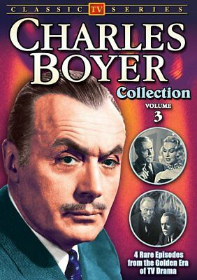 Charles Boyer Collection: Volume 3 NEW DVD