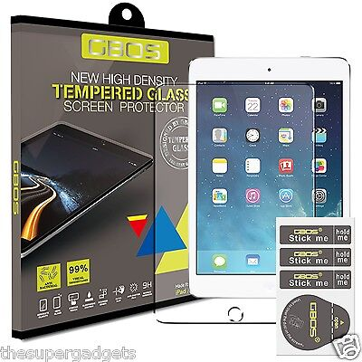 GBOS® 100% Genuine Tempered Glass Film Screen Protector For Apple iPad Mini 4