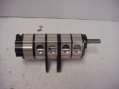 Dailey 5 Stage Roots Style Dry Sump Oil Pump RS29 NASCAR ARCA NHRA Mudbog