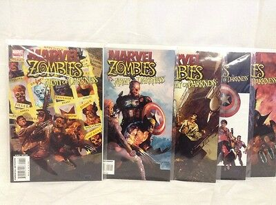 Marvel Zombies Vs. Army Of Darkness Comic Book comics issues 1 2 3 4 5