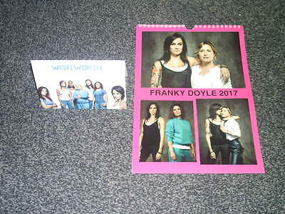 Franky Doyle Wentworth Prison Inspired Calendar And Greetings Card Gift Set