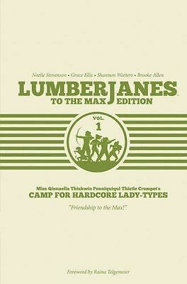 Lumberjanes Volume 1 To the Max Edition - Brooke Allen (A NEW Hardcover