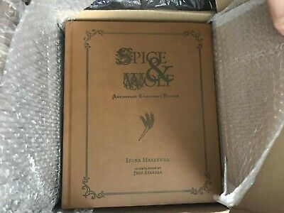 Spice And Wolf Anniversary Collector's Edition, Hard Cover - Brand New