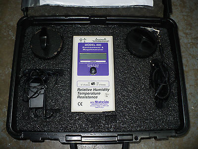 ACL Staticide ACL800 Megohmmeter Surface Resistance & Resistivity Test Kit, Used