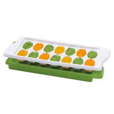 OXO Tot Baby Food Freezer Tray with Protective Cover Freeze Cubes Top Quality