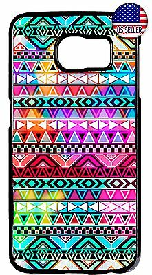 8ac221f75 Aztec Mayan Cute Colorful Tribal Case Cover For Galaxy S8 S9 Plus S7 Note 9  8
