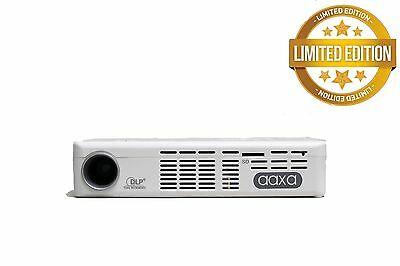 *LIMITED EDITION* White AAXA P4X Pico Pocket Projector, 125 Lumen LED (NEW)