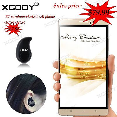 """XGODY 6"""" Unlocked 4Core Dual SIM Android 3G/GSM For AT&T Cell Phone Smartphone"""