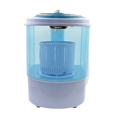 Panda Small Mini Portable Counter Top Compact Washer Washing Machine with Spi...