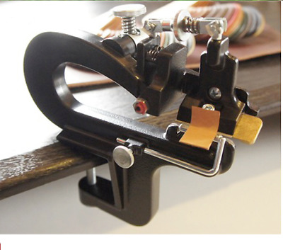 NEW 809BP Manual leather skiver Leather Paring Machine Leather splitter+blades