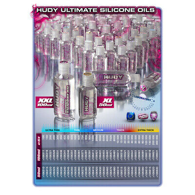 NEW Hudy Ultimate Silicone Oil 350 (Hd106335) from RC Hobby Land
