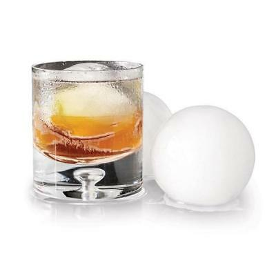 Silicone Double Ice Ball Mould | Round Ice Cube Mold