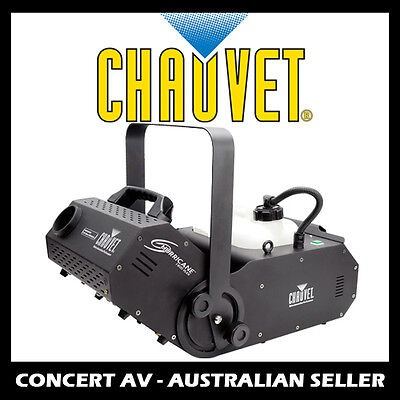 Chauvet Hurricane 1800 Flex Pro Smoke/Fog Machine with DMX and Timer, DJ, Party