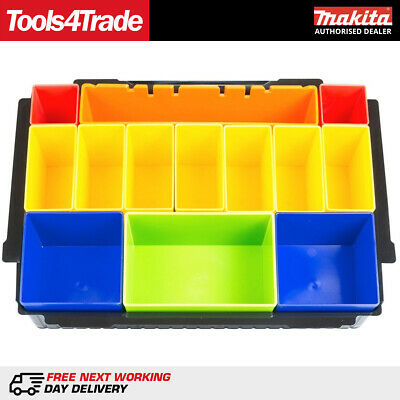 Makita P-83652 MacPak Insert With Coloured Compartments