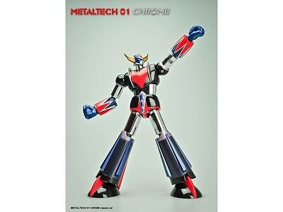 Figurine Goldorak Metaltech 01 Chrome 17cm