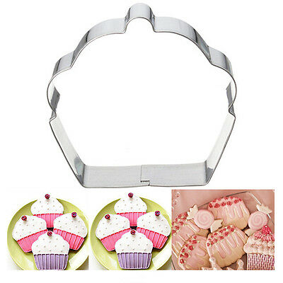 Stainless Steel Cake Cookie Cupcake Cutter Fondant Biscuit Pastry Baking Mould